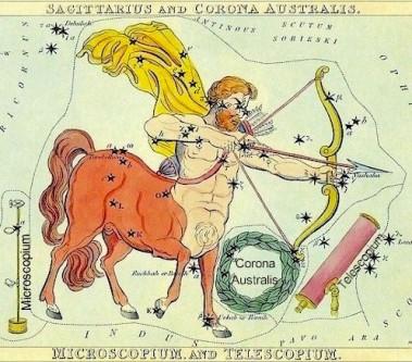 White horse, Sagittarius and Jupiter – Hidden in the Crag