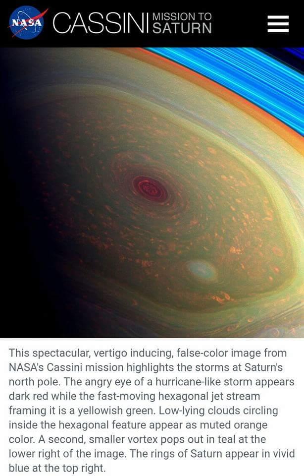 Saturn, Cassini, Death and Resurrection – Hidden in the Crag