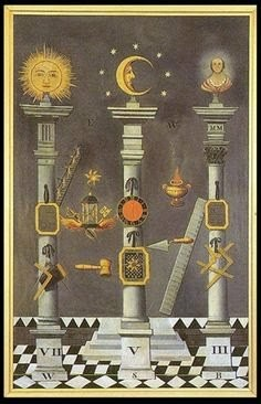 The Three Pillars Of Freemasonry And The Illuminated Dna