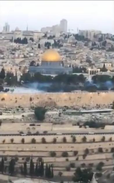 Image result for pictures of blue mist on temple mount