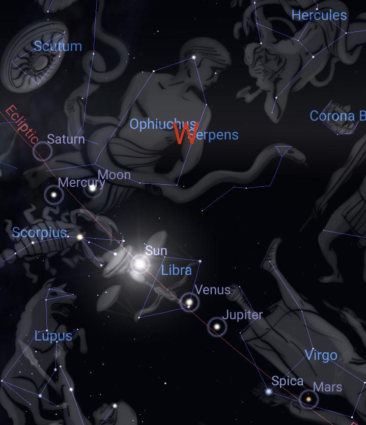 Saturn – Hidden in the Crag
